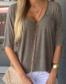 Army Studded Top
