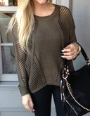 Olive Dream Sweater