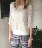 Lace Flower Top