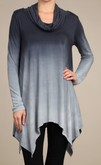 Ombre Navy Tunic
