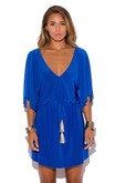 Blue Tassel Dress